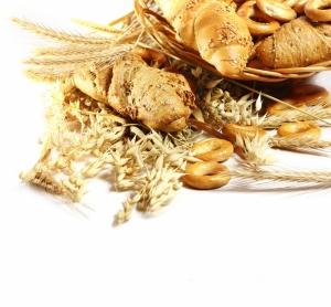 Buğday Tahıl Unlu Mamülleri Ekmek Sepeti 1 Lezzetler Kanvas Tablo