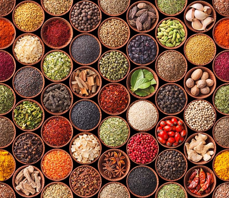 Baharatlar Fotoğraf Kanvas Tablo