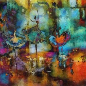 Balerin 8, İç Mekan Dekoratif Kanvas Tablo