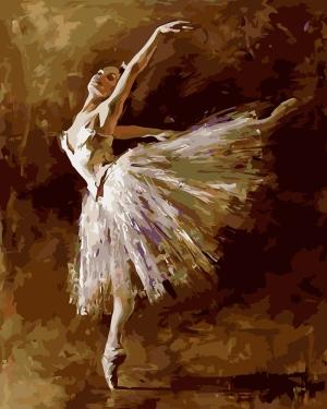 Balerin Yağlı Boya Sanat Kanvas Tablo