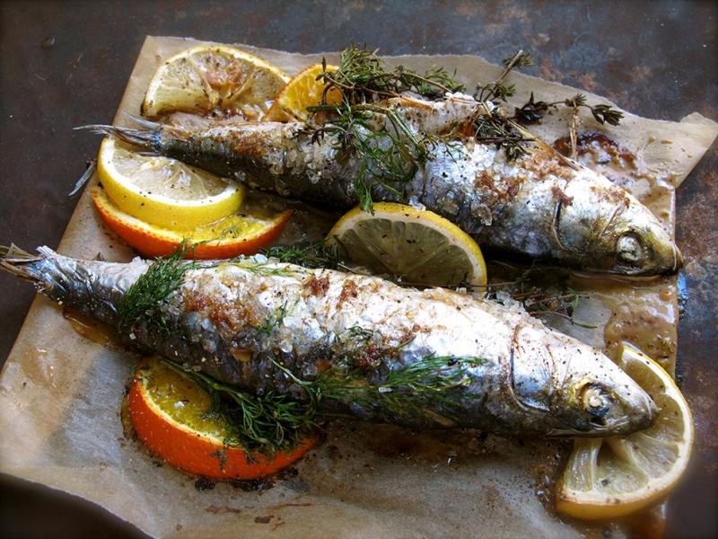Balık 2 Lezzetler Kanvas Tablo