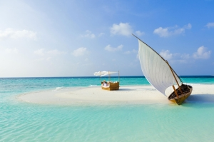 Baros Maldivler 2 Doğa Manzaraları Kanvas Tablo