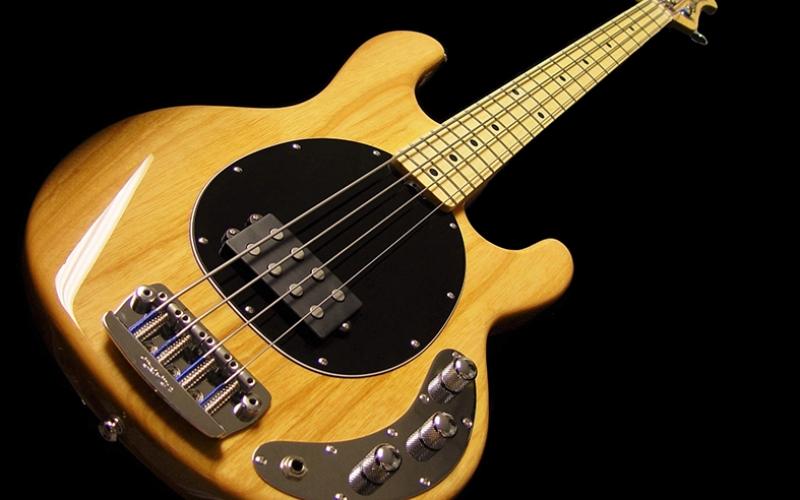 Bas Gitar Müzik Kanvas Tablo