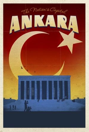 Başkent Ankara ve Anıtkabir Kanvas Tablo