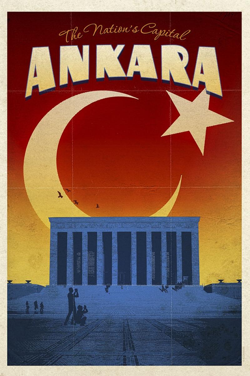 Başkent Ankara Ve Anitkabir şehirler Kanvas Tablo Arttablo