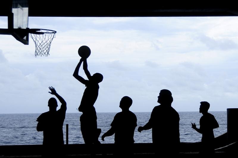 Basketbol Spor Kanvas Tablo