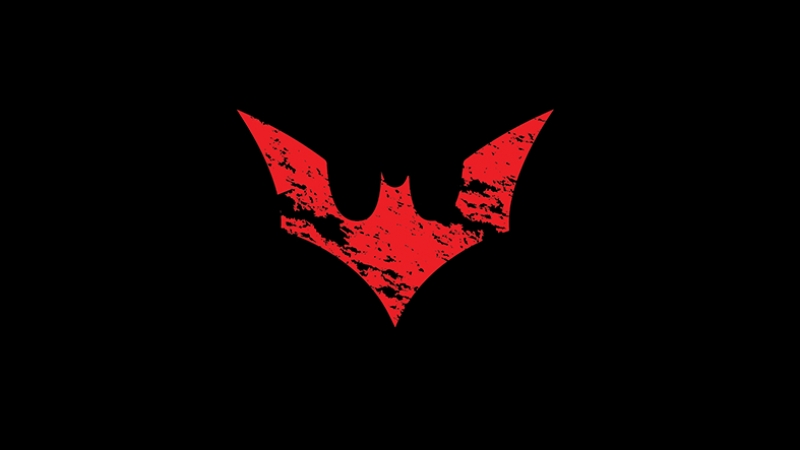 Batman Animasyon Logo Süper Kahramanlar Kanvas Tablo
