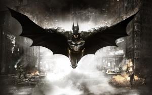 Batman Arkham Knight Süper Kahramanlar Kanvas Tablo