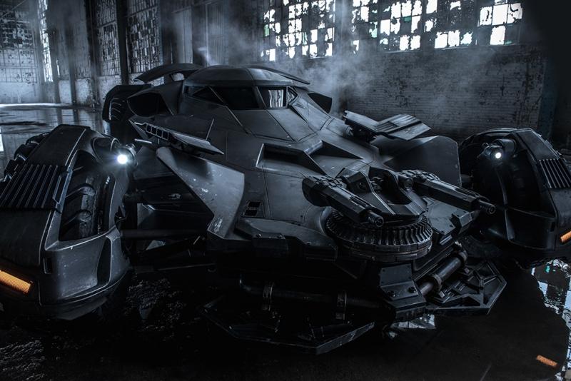 Batman Batmobile 2016 Sinema Kanvas Tablo