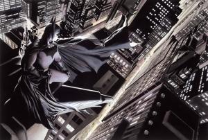 Batman Çizgi Roman Çizim 2 Süper Kahramanlar Kanvas Tablo