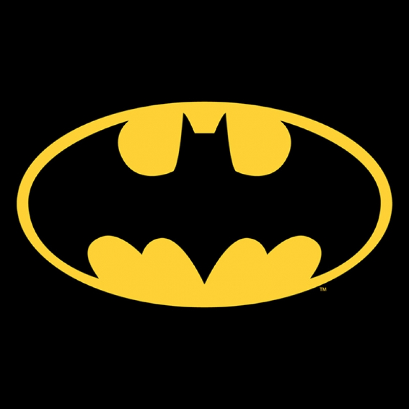 Batman DC Comics Logo Süper Kahramanlar Kanvas Tablo
