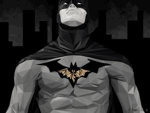 Batman İllustrasyon Çizim 3 Süper Kahramanlar Kanvas Tablo