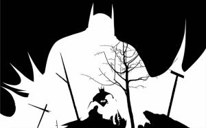 Batman İllustrasyon Popüler Kültür Kanvas Tablo