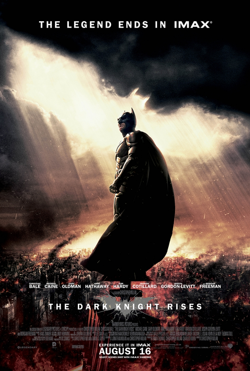 Batman Kara Şovalye Afiş Kanvas Tablo 3