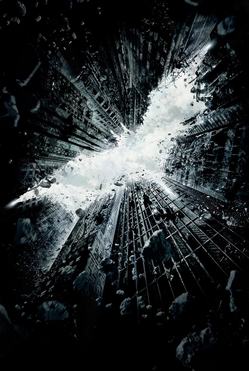 Batman Kara Şovalye Afiş Kanvas Tablo