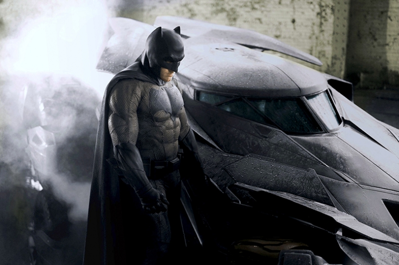 Batman Kara Şövalye Batmobile Süper Kahramanlar Kanvas Tablo