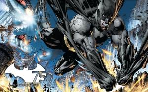 Batman Kara Şövalye Çizgi Roman Süper Kahramanlar Kanvas Tablo