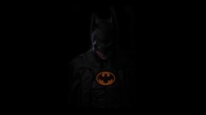 Batman Kara Şövalye Karanlık Süper Kahramanlar Kanvas Tablo