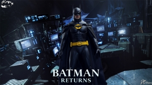 Batman Kara Şövalye Returns Tim Burton Süper Kahramanlar Kanvas Tablo