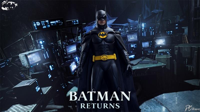 Batman Kara Şövalye Returns Tim Burton Süper Kahramanlar Kanvas Tablo