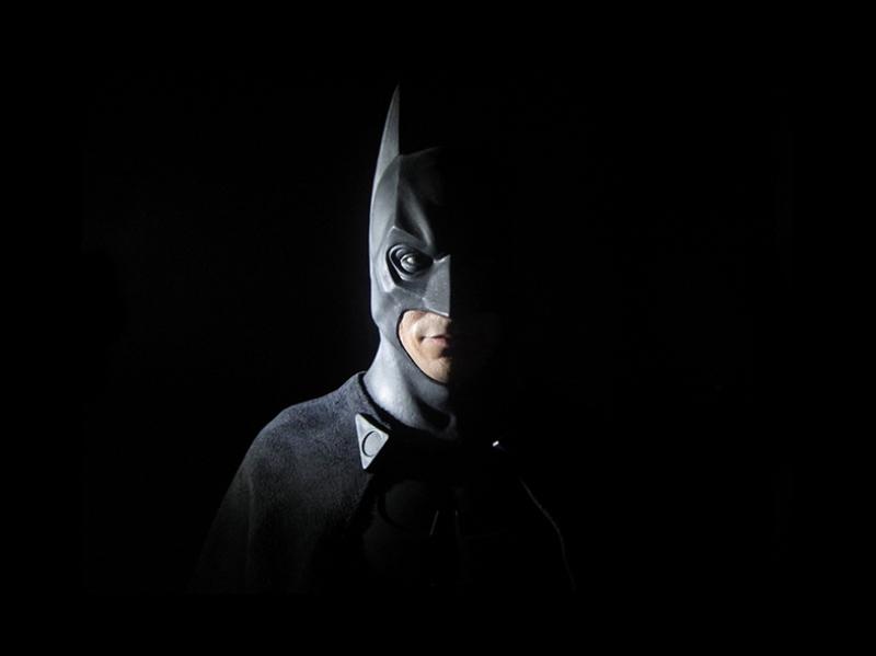 Batman Kara Şövalye Süper Kahramanlar Kanvas Tablo