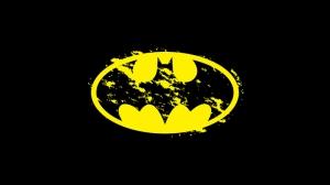 Batman Klasik Logo Süper Kahramanlar Kanvas Tablo