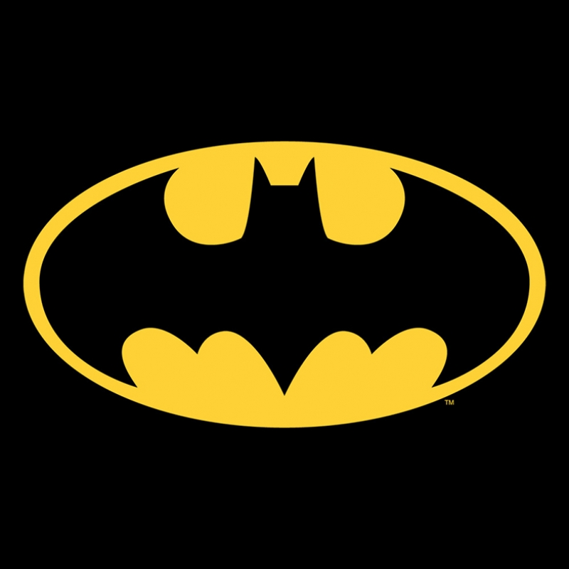 Batman Logo Süper Kahramanlar Kanvas Tablo