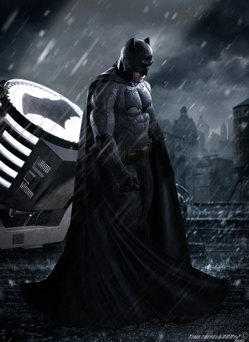 Batman Süper Kahramanlar Kanvas Tablo
