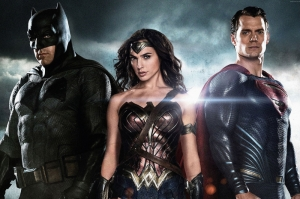 Batman V Superman Dawn Of Justice 1 Henry Cavill Ben Affleck En İyi Filmler Sinema Kanvas Tablo