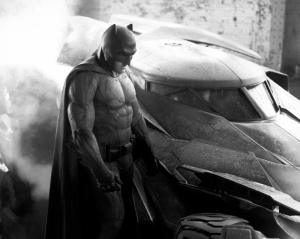Batman ve Batmobile Süper Kahramanlar Kanvas Tablo