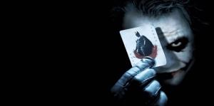 Batman ve Joker-3 Film Afişi Kanvas Tablo