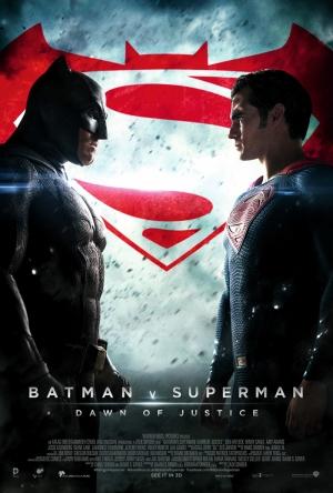 Batman ve Süperman Afiş 2 Süper Kahramanlar Kanvas Tablo