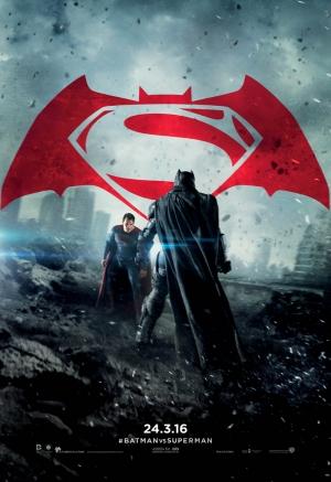 Batman ve Süperman Çizgi Roman 3 Süper Kahramanlar Kanvas Tablo