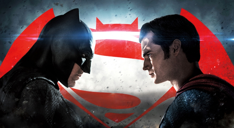 Batman ve Süperman Dawn Of Justice Afiş Süper Kahramanlar Kanvas Tablo