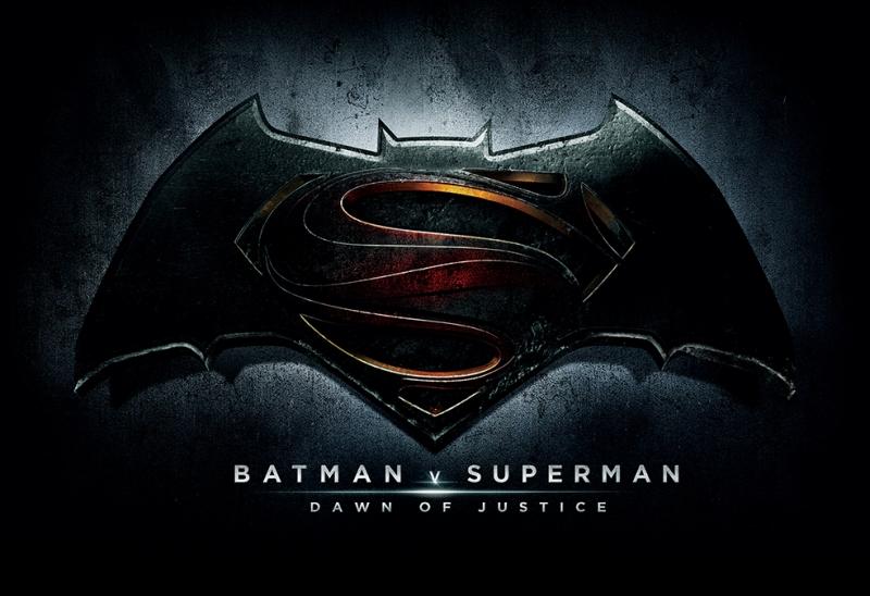 Batman ve Süperman Dawn Of Justice Logo Süper Kahramanlar Kanvas Tablo
