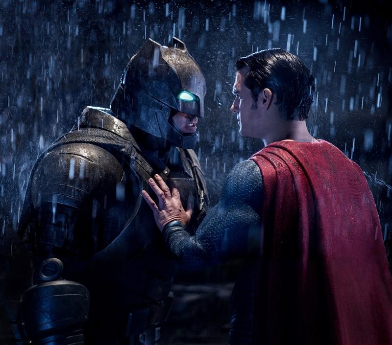 Batman ve Süperman Kapışma Süper Kahramanlar Kanvas Tablo