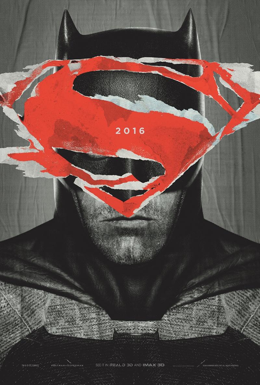 Batman vs Süperman Afiş Kanvas Tablo