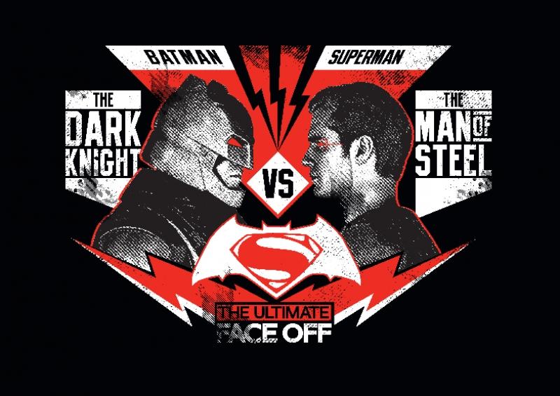 Batman vs Süperman Süper Kahramanlar Kanvas Tablo