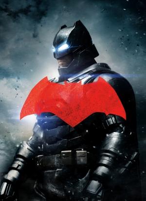Batman Zırhlı Kostüm Süper Kahramanlar Kanvas Tablo