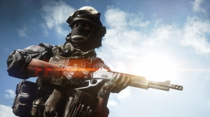Battlefield 4 Askeri Kanvas Tablo