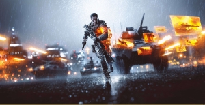 Battlefield 4 Dijital ve Fantastik Kanvas Tablo
