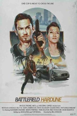 Battlefield Hardline Film Afişi Sinema Kanvas Tablo
