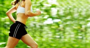 Bayan Koşucu 5 Sporcu Fotoğraf Kanvas Tablo