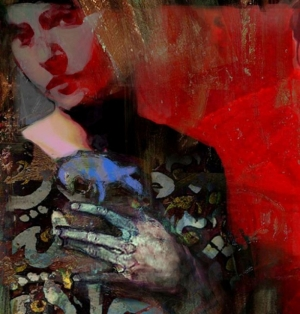 Bayan Portre 1, Suhair Sibai Yağlı Boya Sanat Kanvas Tablo