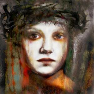 Bayan Portre 12, Suhair Sibai Yağlı Boya Sanat Kanvas Tablo
