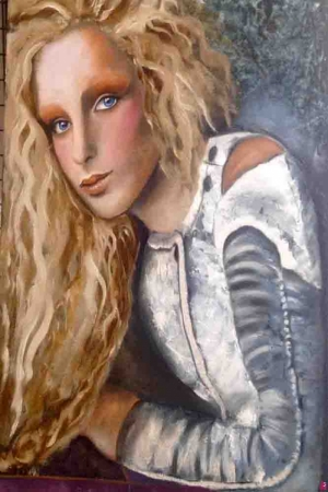 Bayan Portre-2 Sanat Kanvas Tablo