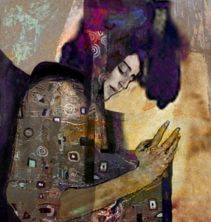 Bayan Portre 21, Suhair Sibai Yağlı Boya Sanat Kanvas Tablo