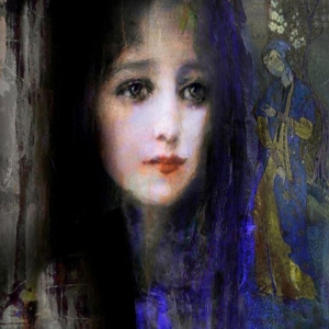 Bayan Portre 23, Suhair Sibai Yağlı Boya Sanat Kanvas Tablo