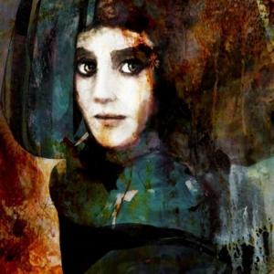 Bayan Portre 3, Suhair Sibai Yağlı Boya Sanat Kanvas Tablo
