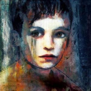Bayan Portre 7, Suhair Sibai Yağlı Boya Sanat Kanvas Tablo